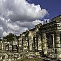 Mayan Colonnade by Ken Frischkorn
