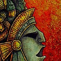 Mayan Mask II by Faeorain Ui Neill