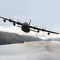 Mc-130p Combat Shadow Over Scotland by Gert Kromhout