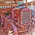 Mccormack Deering Tractor  by Douglas Barnard