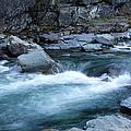 Mcdonald River Glacier National Park - 4 by Paul Cannon