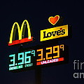 Mcdonalds Loves Gas by Paul Wilford