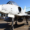 Mcdonnell Douglas Ta-4j Skyhawk Aircraft Fighter Plane . 7d11303 by Wingsdomain Art and Photography