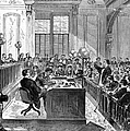 Mcfarland Trial, 1870 by Granger