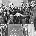 Mckinley Taking Oath, 1897 by Granger