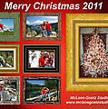 Mclanegoetz Studio Christmas Card by LeeAnn McLaneGoetz McLaneGoetzStudioLLCcom