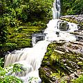 Mclean Falls In The Catlins by U Schade