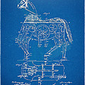 Mechanical Horse Toy Patent Artwork 1893 by Nikki Marie Smith