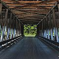 Mechanicsville Road Bridge Interior by At Lands End Photography