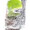 Medici Grotto Paris by Marilyn MacGregor