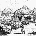 Medieval Tartar Huts by Granger