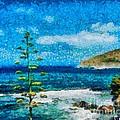 Mediterranean View by Dragica  Micki Fortuna