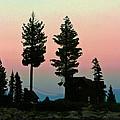 Meeks Bay Sunset. by Mitch Shindelbower