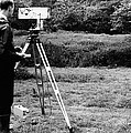 Mekometre Surveying, 1967 by National Physical Laboratory (c) Crown Copyright