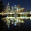 Melbourne Lights by Chris Anthony