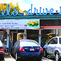 Mel's Drive-in Diner In San Francisco - 5d18014 - Painterly by Wingsdomain Art and Photography