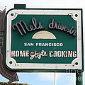 Mel's Drive-in Diner Sign In San Francisco - 5d18046 by Wingsdomain Art and Photography