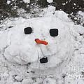 Melting Snowman by Grace Grogan