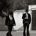 Men In Costume by Lorraine Devon Wilke