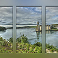 Menai Suspension Bridge by Fran Walding