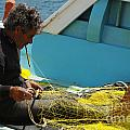 Mending His Nets by Bob Christopher