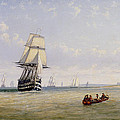 Meno War Schooners And Royal Navy Yachts by Claude T Stanfield Moore