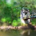 Menomonee River Footbridge  by Geoff Strehlow