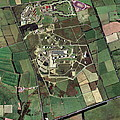 Menwith Hill Spy Base, Aerial Image by Getmapping Plc