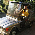 Mercedes Golf Cart by Kym Backland