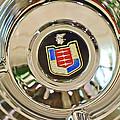 Mercury Wheel Emblem by Jill Reger