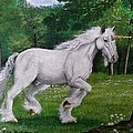 Merlin's Unicorn by Doria Dieckmann