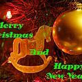 Merry Christmas And Happy New Year  by DeeLon Merritt