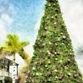Merry Christmas Tree 2012 by Trish Tritz