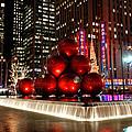 Merry New York City Christmas by Nancy De Flon