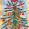 Merry Xmas Tree Fairies by Sushila Burgess