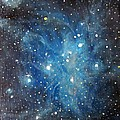 Messier 45 Pleiades Constellation by Alizey Khan