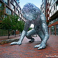 Metal Monster by Jale Fancey