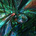 Metal N Shattered Glass Fx  by G Adam Orosco