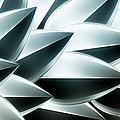 Metallic Feathers, Full Frame by Ralf Hiemisch