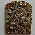 Metallic Wash Clay Pin by M Brandl