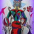 Metamorphosis Of Eleonore Into A Snake. by Marie Schwarzer