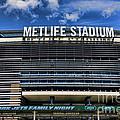 Metlife Stadium by Paul Ward