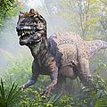 Metriacanthosaurus by David Davis and Photo Researchers