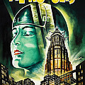 Metropolis Poster by Bill Cannon