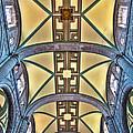 Metropolitan Cathedral Ceiling by John Bartosik