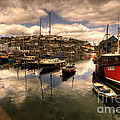 Mevagissy Harbour by Rob Hawkins