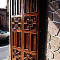 Mexican Door 42 by Xueling Zou