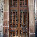 Mexican Door 54 by Xueling Zou