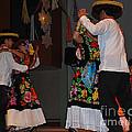 Mexican Folk Dancers 3 by Anne Gordon
