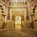Mezquita Mihrab In Cordoba by Artur Bogacki